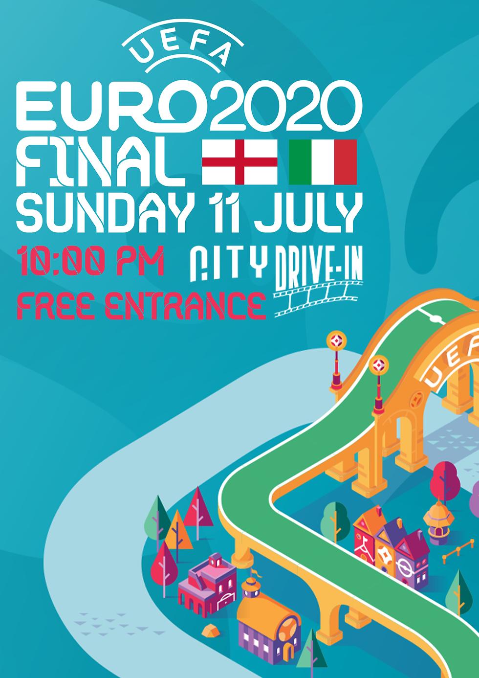 EURO 2021- FINAL | ENGLAND - ITALY
