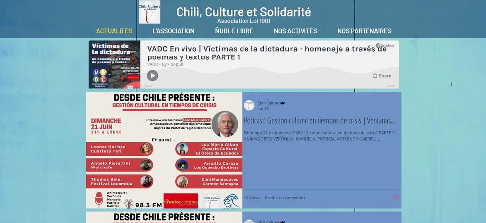 Chili Culture et Solidarité