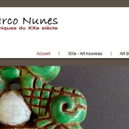Marco Nunes, céramiques du 20ème siècle | Multimédia