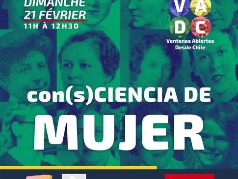 VADC En vivo | Con(s)ciencia de mujer PARTE 1 y 2