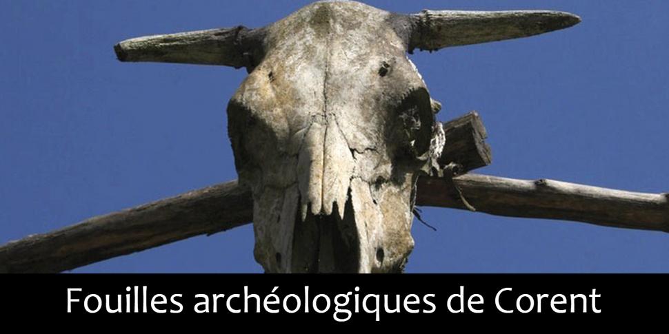 Fouilles archéologiques de Corent