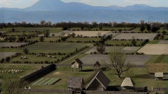 Des Gaulois dans la plaine