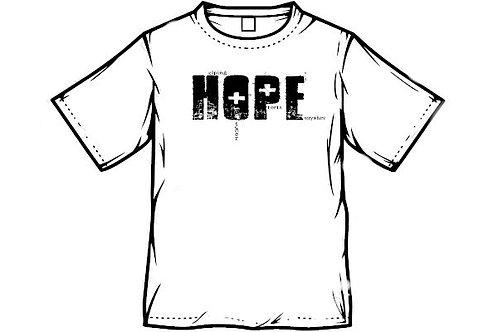 HOPE White Tee