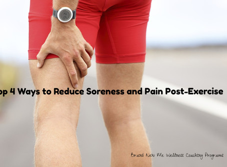 Top 4 Ways to Reduce Soreness and Pain Post-Exercise