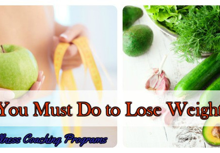 8 Things You Must Do to Lose Weight for Good