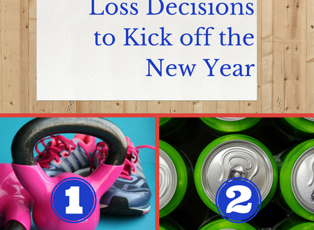5 Smart Weight Loss Decisions to Kick off the New Year