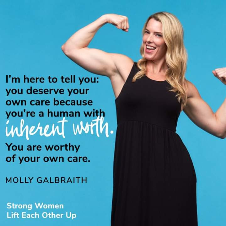 Quote from Strong Women Lift Each Other Up