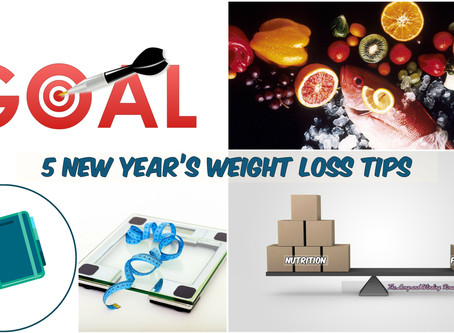 5 New Year's Weight Loss Tips