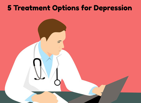 5 Treatment Options for Depression