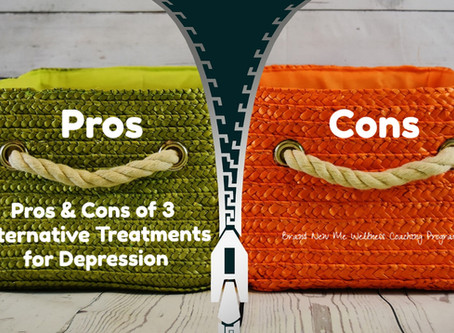 Pros & Cons of 3 Alternative Treatments for Depression