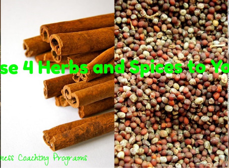 Add These 4 Herbs and Spices to Your Meals