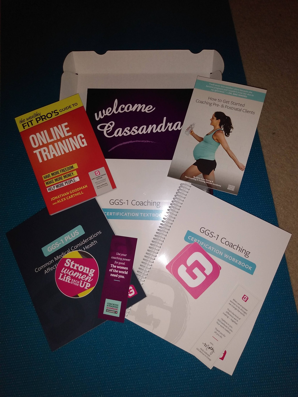 GGS-1 Women's Coaching Specialist Certification materials