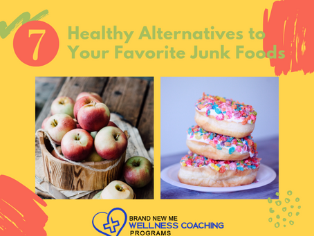 7 Healthy Alternatives to Your Favorite Junk Foods