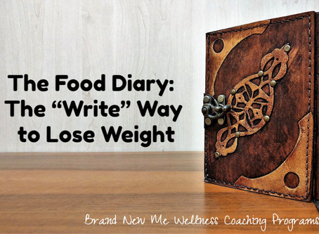 """The Food Diary:  The """"Write"""" Way to Lose Weight"""
