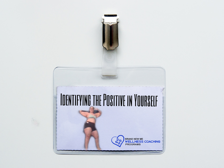 Identifying the Positive in Yourself