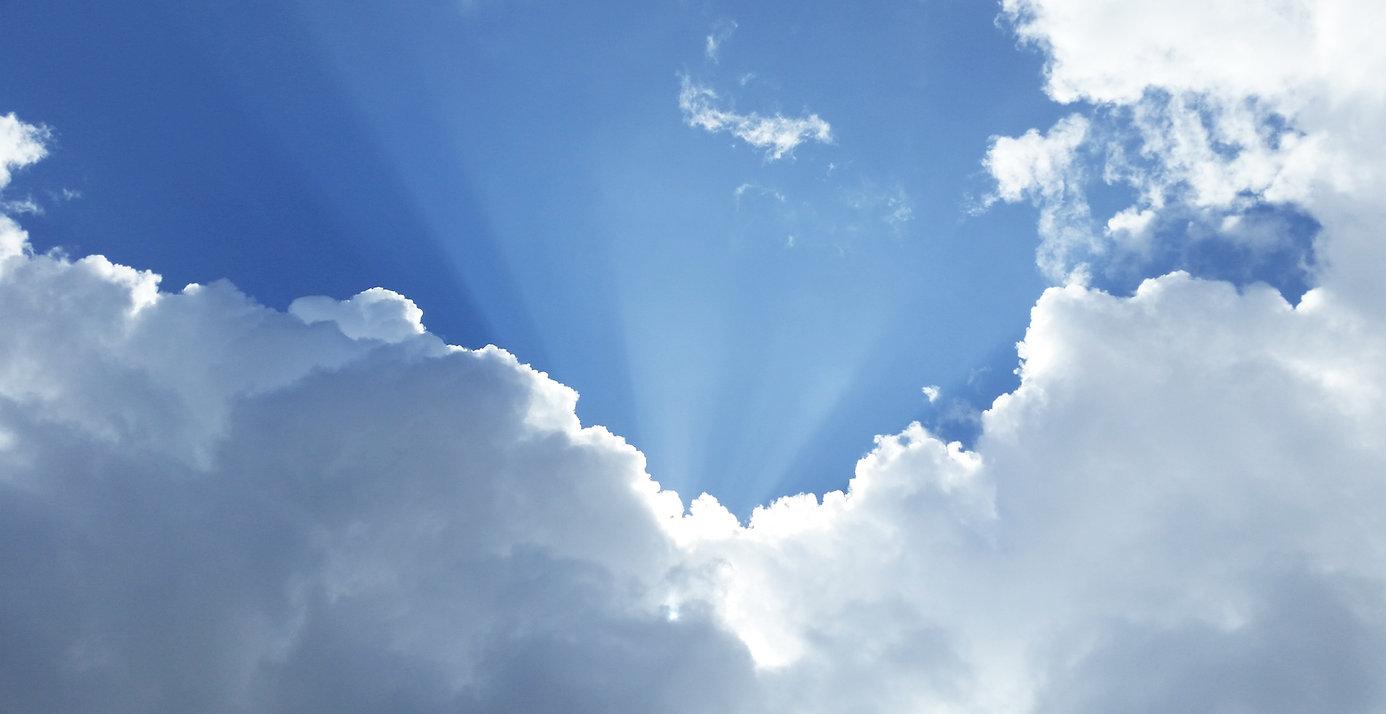 Cielo por completo de la Luz