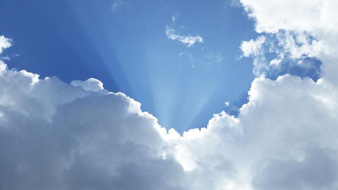 Himmel voller Licht