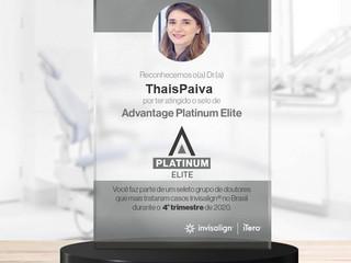 Parabéns Dra. Thais - Invisalign Doctor