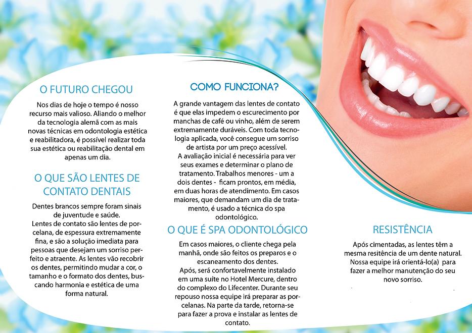 lente de contato dental bh