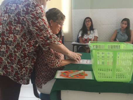WORKSHOP MATERIAIS ESTRUTURADOS - IMPERATRIZ - MARANHÃO
