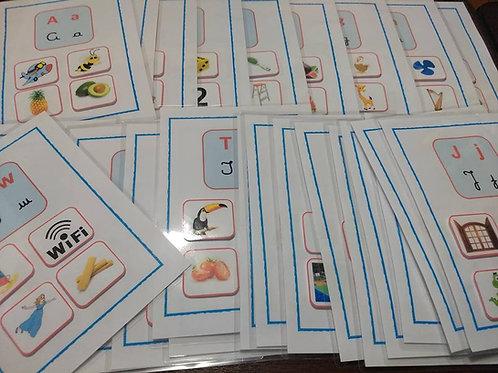 Pranchas do Alfabeto/ aliteração