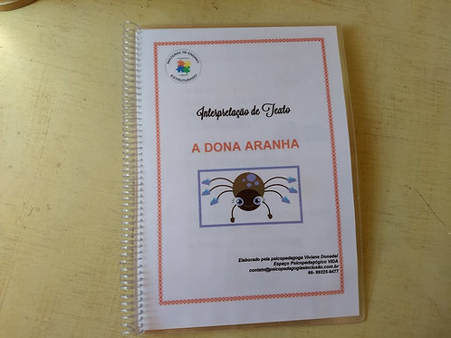 """PROMO: Material """"Dona Aranha"""" + Português 1"""