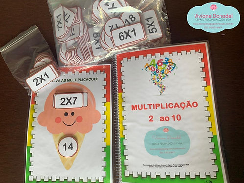 Multiplicação do 2 ao 10