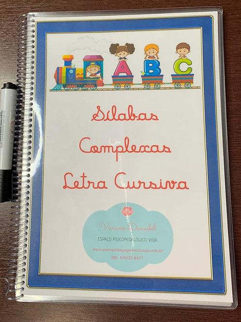 Silabas Complexas - Letra Cursiva