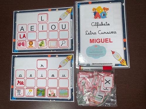 Alfabetizando: Letra Cursiva e Construção Silábica
