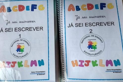 PROMO: Já sei Ler (02 cadernos) + Construir Palavras