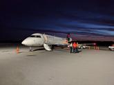 Dawn at Ithaca Airport