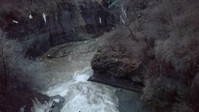 Cornell Beebee Falls after snow melt