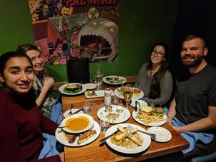2017 Thanksgiving dinner at Northstar