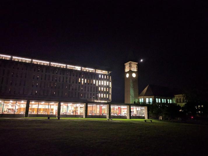 Cornell clock tower