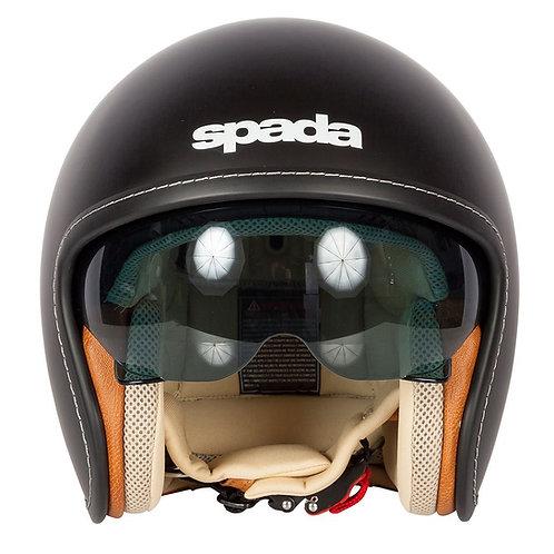 Spada Raze Openface Helmets Matt Black