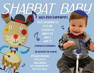 Shabbat Baby Music with Kira