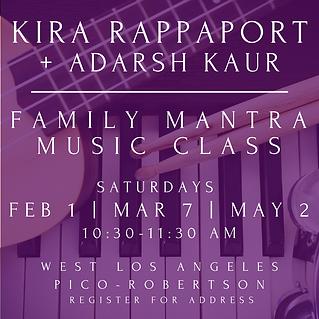 Family Kundalini Music Class