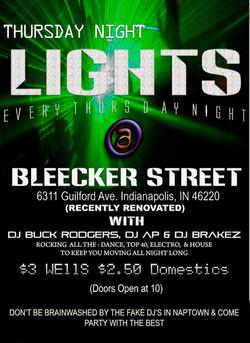 Bleeker Street - Indianapolis, IN