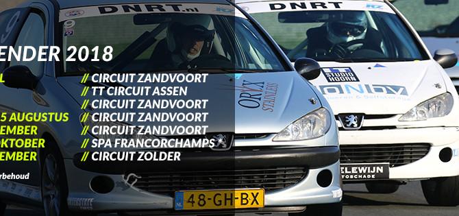 Datum Circuit Zolder bekend en meer races per racedag!