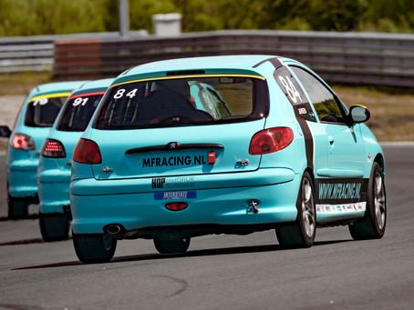 MF Racing in 2020 met 11 auto's aan de start