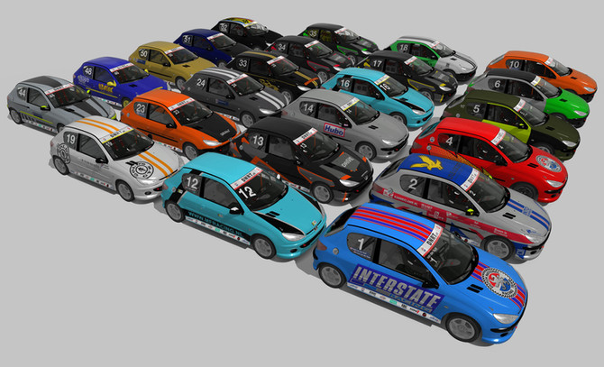 206 GTi Cup Sim-Racing: Zandvoort 31 mei