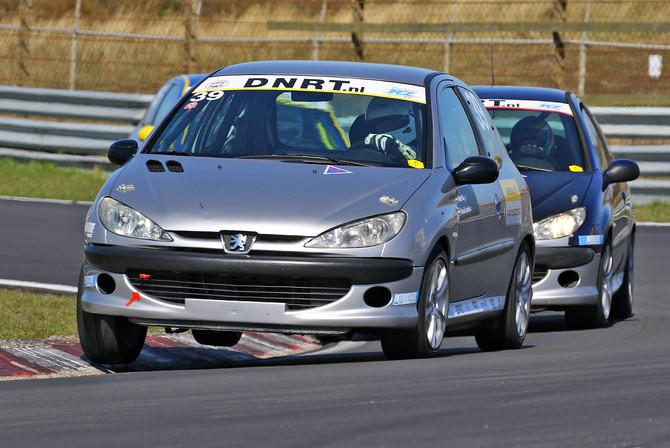Geslaagde aftrap voor de Peugeot 206 GTi Cup op Circuit Zandvoort