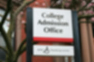 College Admission Office sign.jpg
