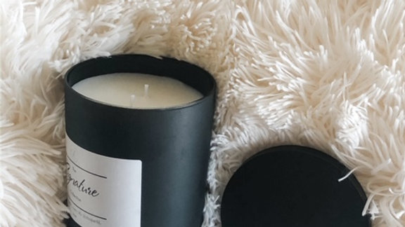 The SIGNATURE Collection Candle