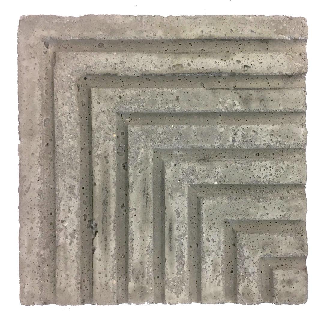 Entry Fountain Concrete Model