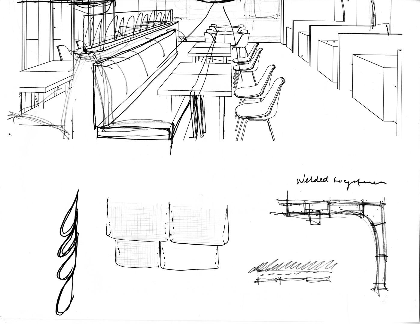 Restaurant Sketches