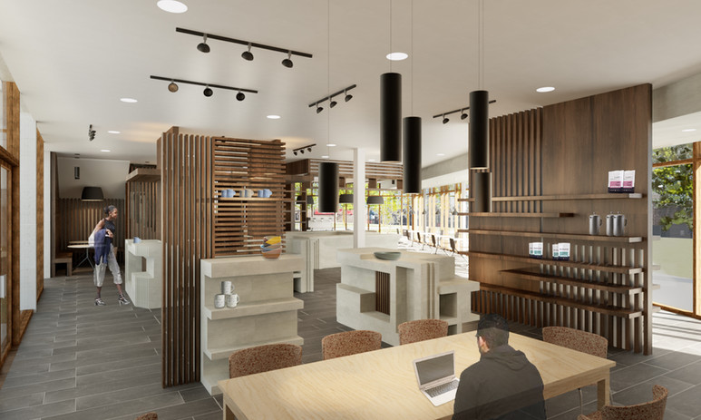 Cafe Retail Space