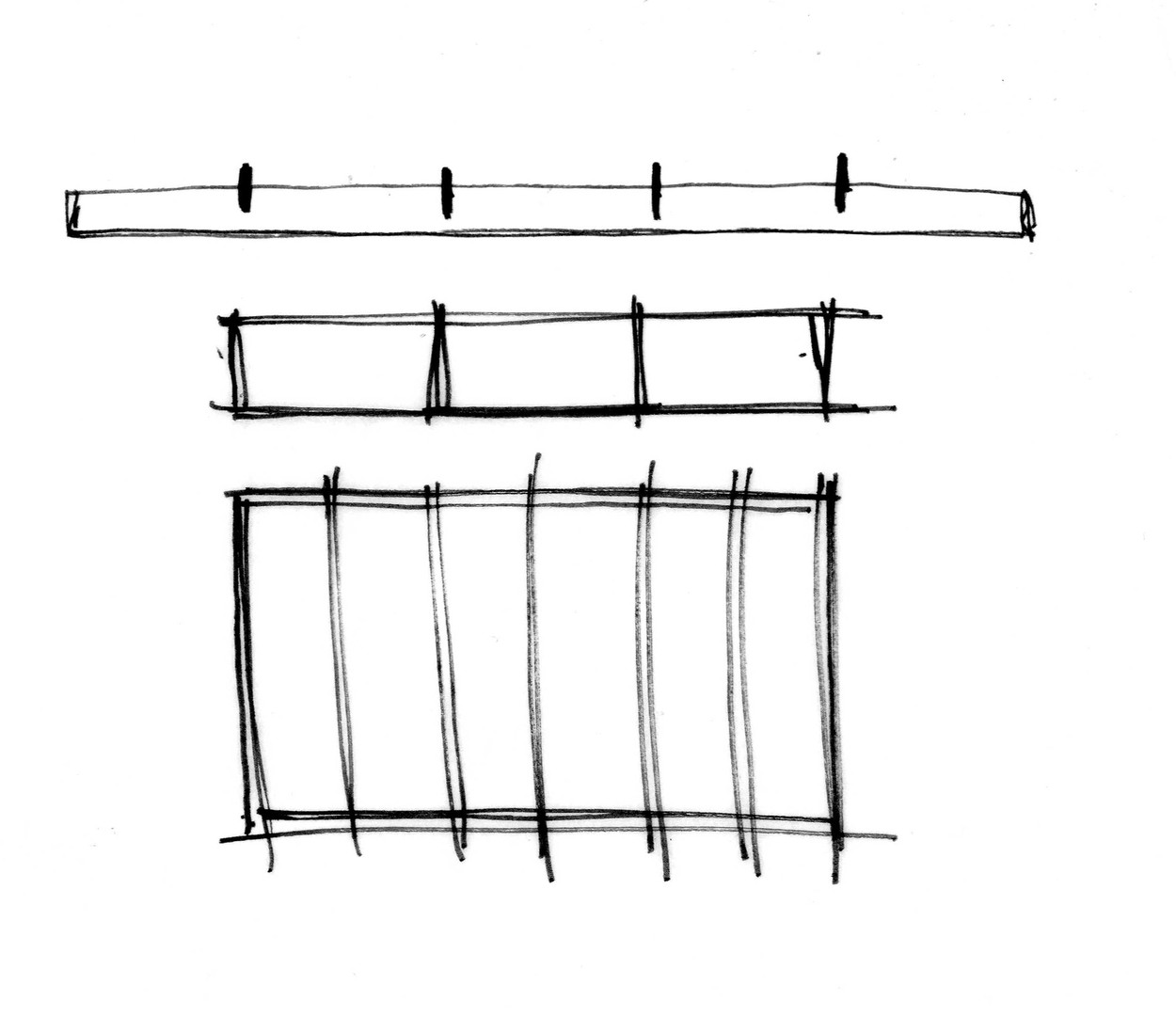 Restaurant Section sketch