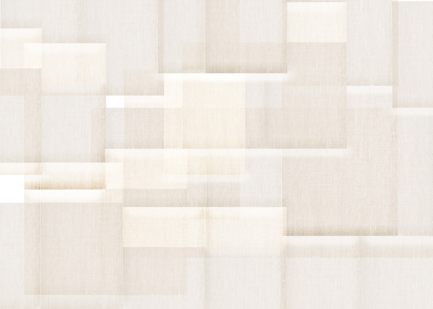Layered Linen Feature Wall Concept