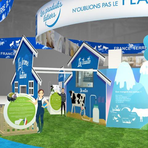 CNIEL Salon de l'agriculture 2017